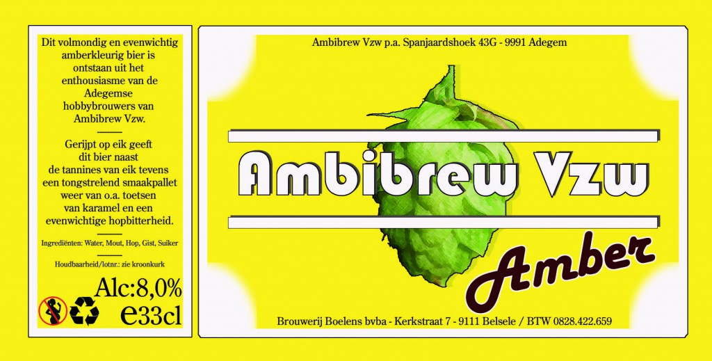 Ambibrew Amber etiket